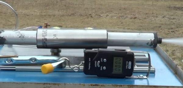 Hybrid Rocket Motor Delta Test