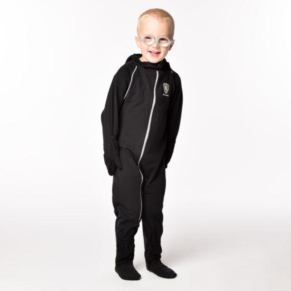 Shiverless Children's Thin Warm Winter Coat