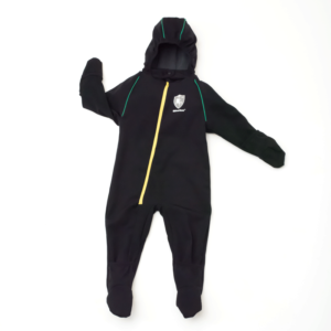 Shiverless Kids Warm Carseat Onesie Thin