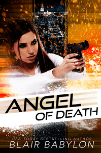 "The Angel of Death by Blair Babylon.  To protect and to serve, or to save her own brother?  Angel Day is the lead sniper for the Phoenix Police Department, and she got her nickname ""The Angel of Death"" the old-fashioned way: she earned it for her ruthless efficiency at stopping crimes with a well-placed bullet.  When a massive call-out down by the Mexican Border reveals a terrorist cell and turns into a standoff, Angel discovers that her youngest brother, the lost soul of her family, is inside that barricaded house, and she will do absolutely anything to save him."