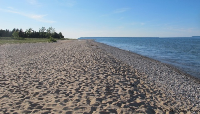 Lake Michigan at Sleeping Bear Dunes. (2011 file)