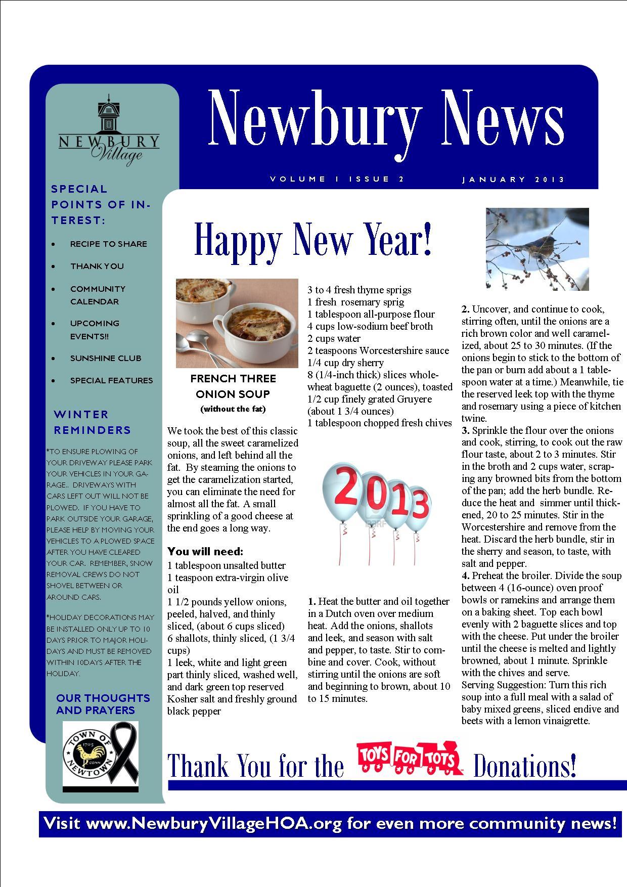 JAN 2013Newsletter-PublicVersion