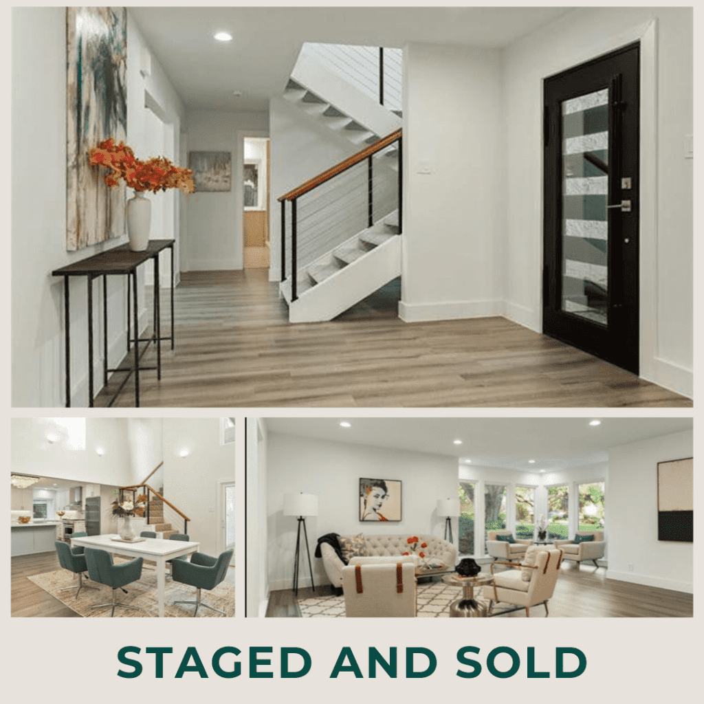 Dallas vacant home staging
