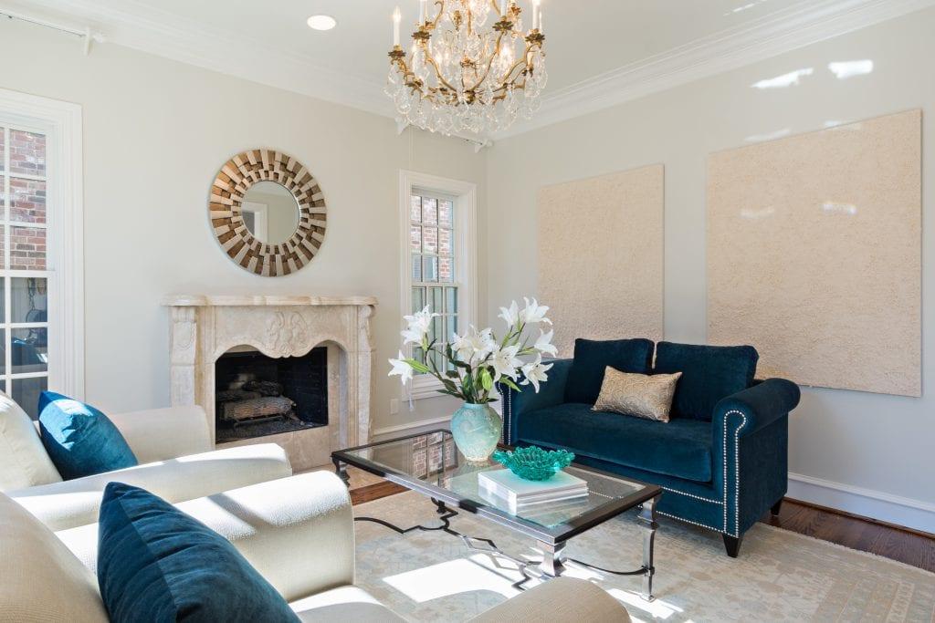 Formal Living Room Staging