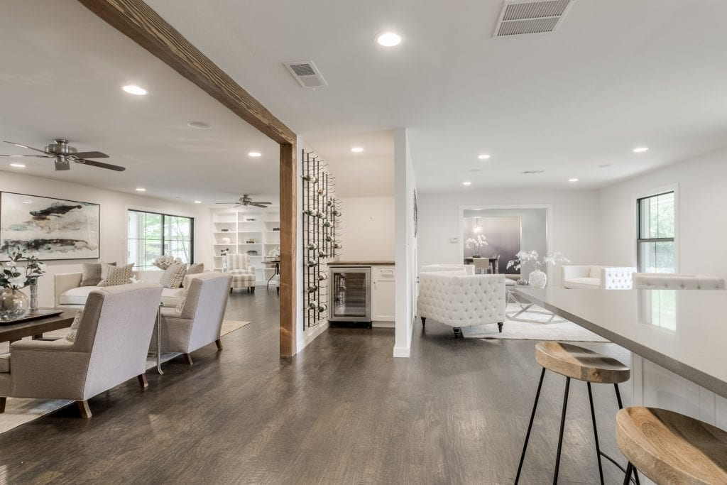 Dallas Luxury Home staging