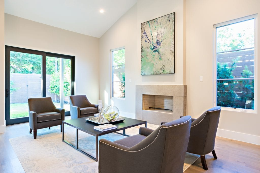 Luxury home staging in Dallas by Design by KETI