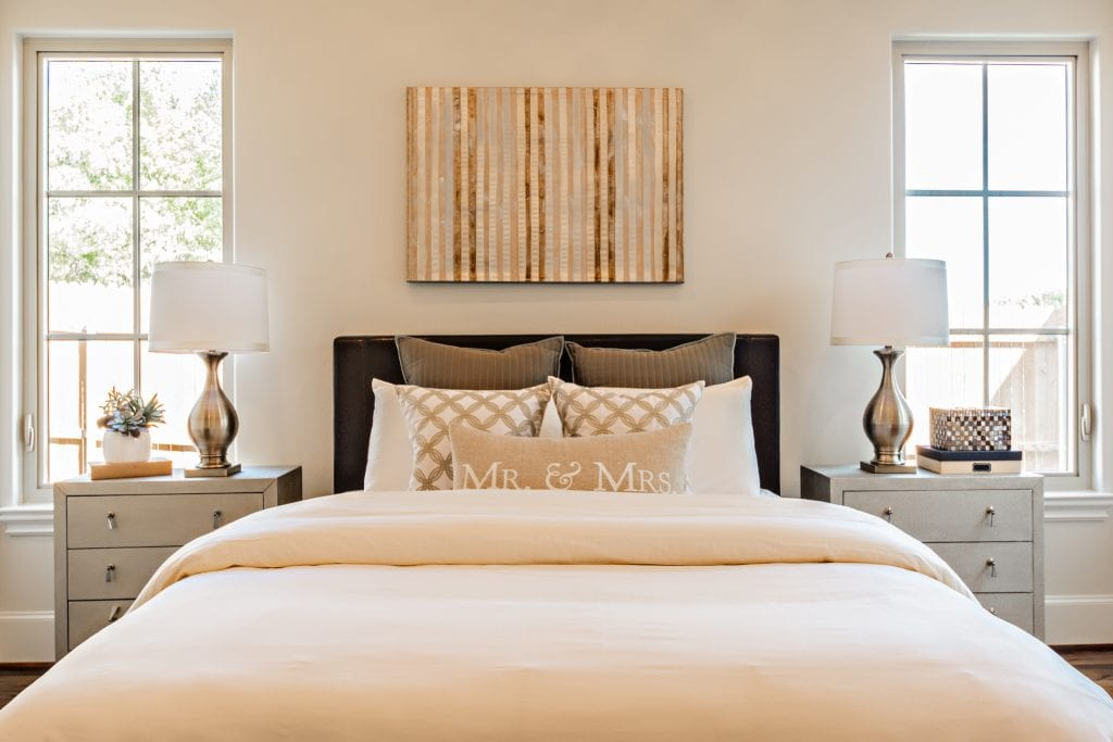 Bedroom Home Staging Dallas