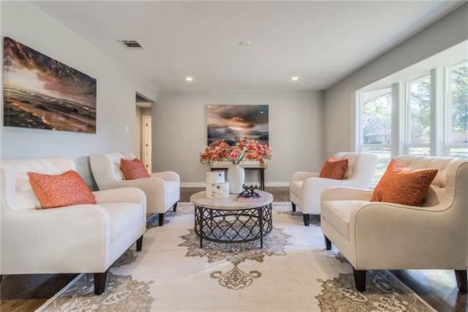 Vacant Home Staging As Seen On Hgtv S Lone Star Flip