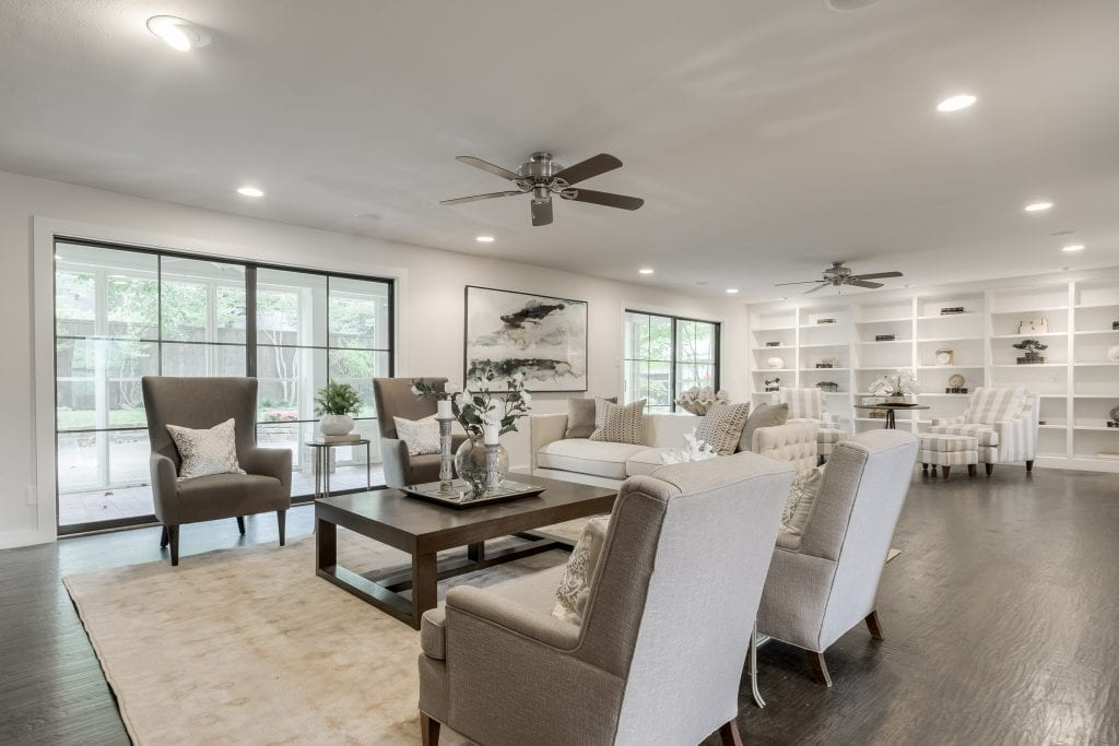 North Dallas Vacant Home Staging