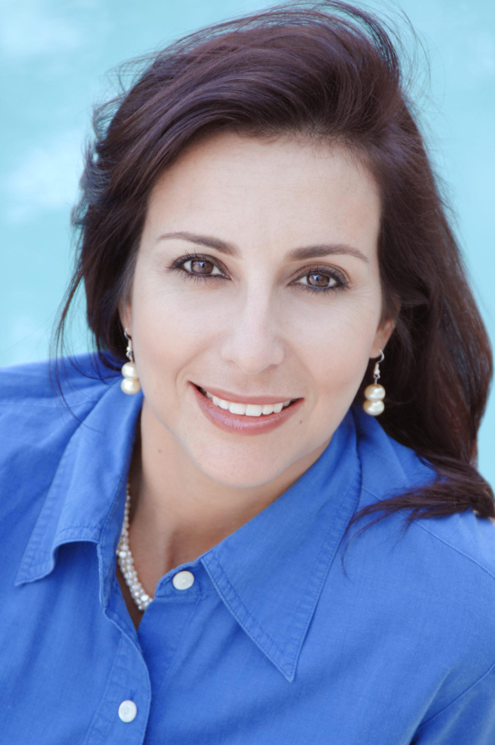 Portrait of Designer Ana Maria Atias at 2544 Jardin Dr, Weston, FL