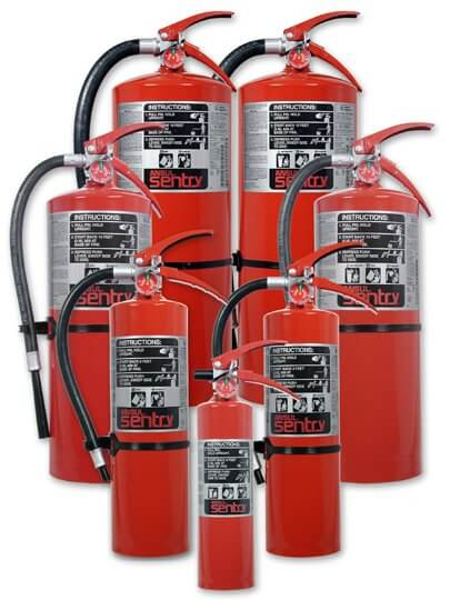 fire protection equipment - ansul fire extinguishers