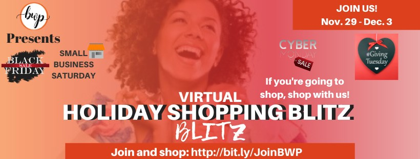Virtual Shopping Blitz at Black Women Promote