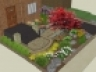 3D_plan-render_frontyard-plantings-stairs-house