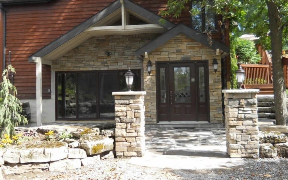 Redesign of house exterior - materials and landscape