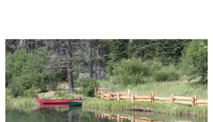 boat at a lake