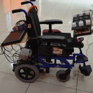 Brain Operated Wheelchair Project Developed by CRAE TECH Featured Picture.