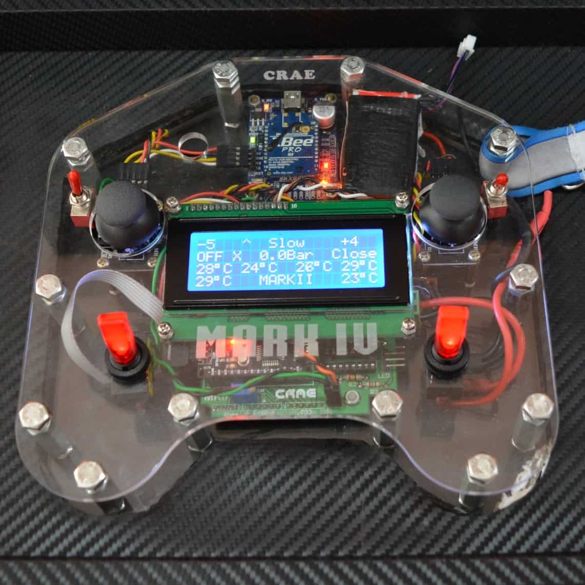 Customized Remote Control Project Developed by CRAE TECH Featured Picture.