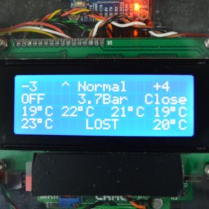 Large LCD on Customized Remote Control Project Developed by CRAE TECH.