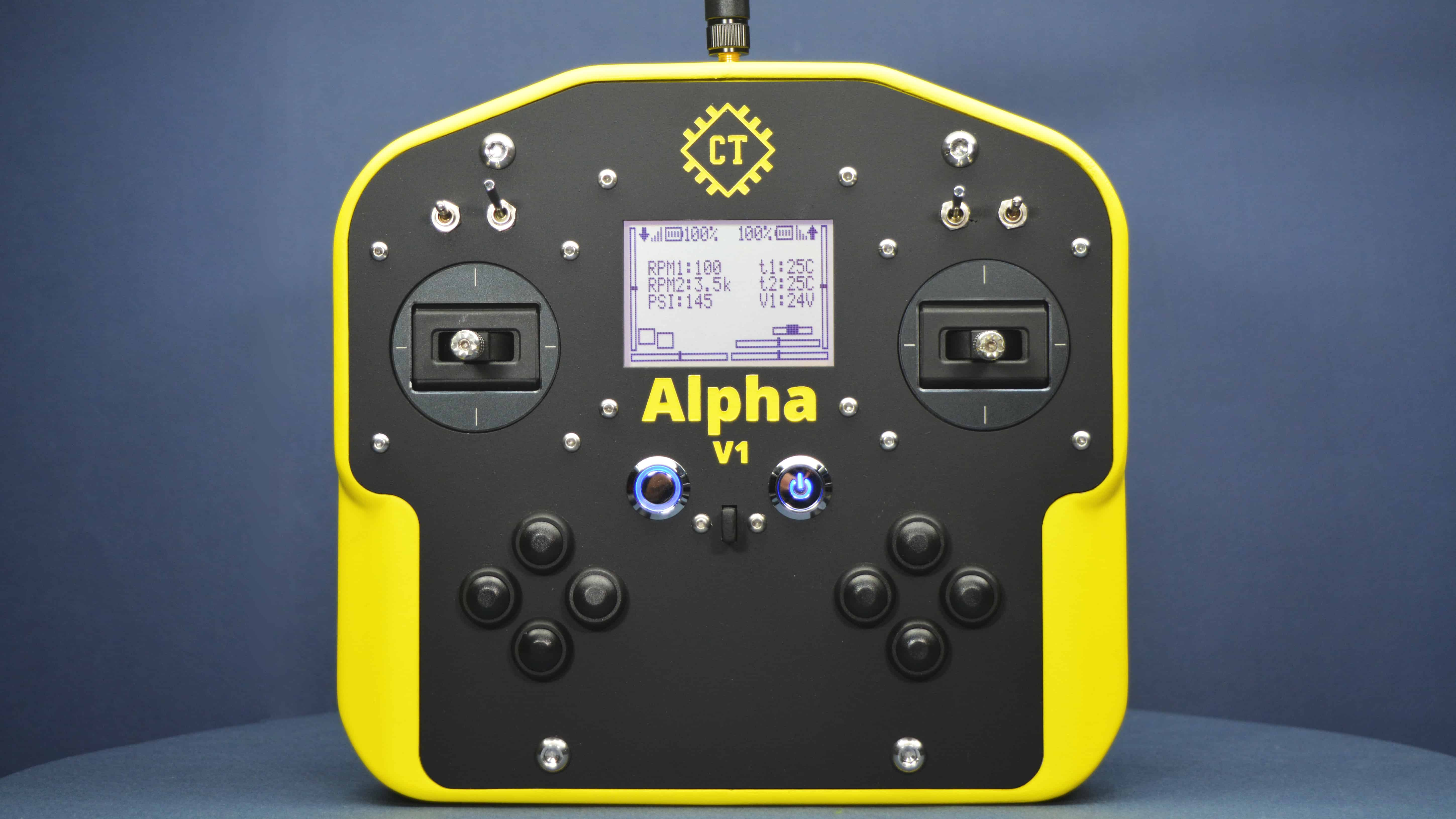 Alpha V1 Open-Source Transmitter Remote Controller