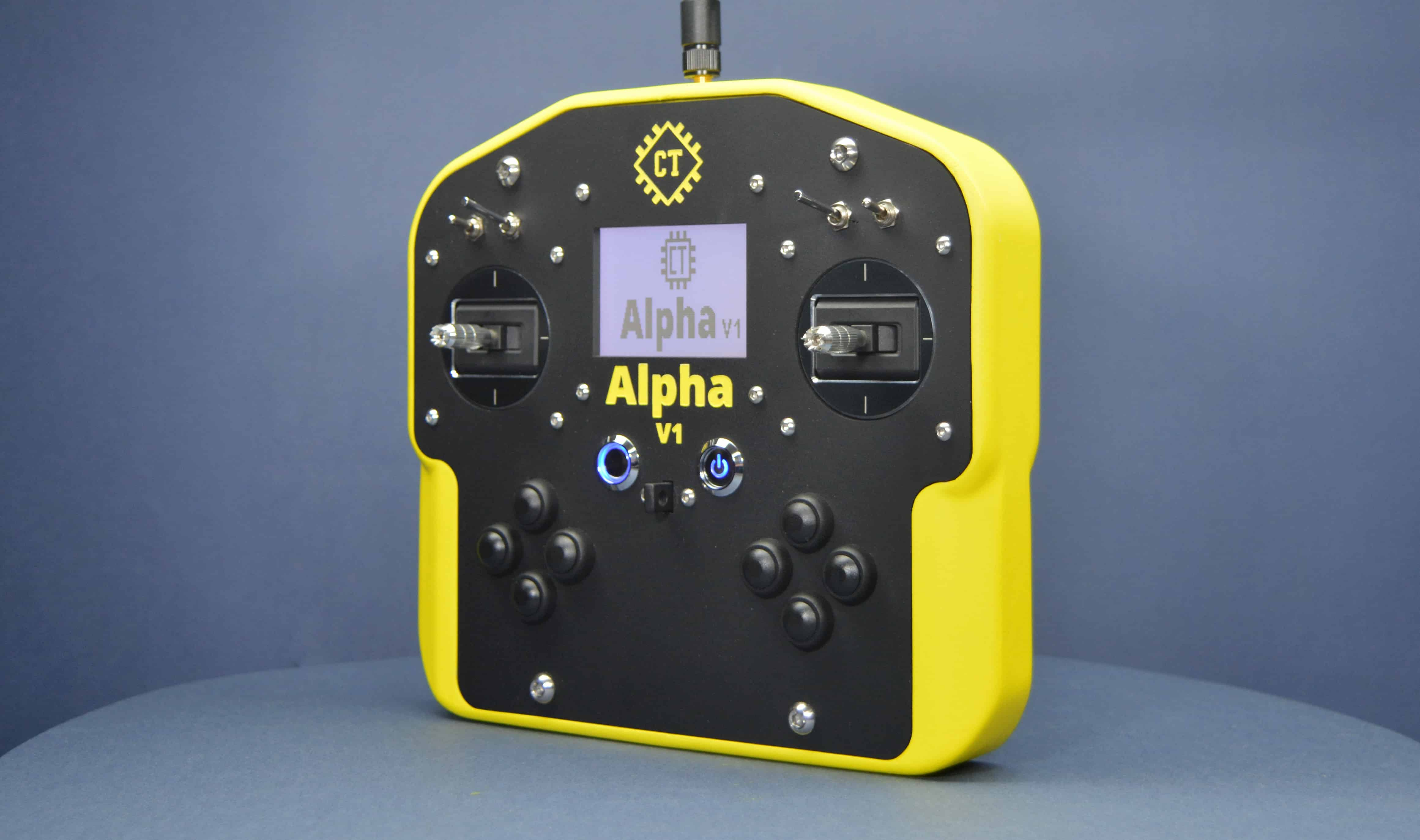 Alpha V1 Open Source and Arduino Compatible Remote Controller (Transmitter)