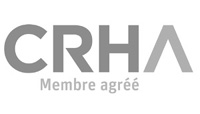 Logo CRAH membre agrée, PR Gestion-Conseil