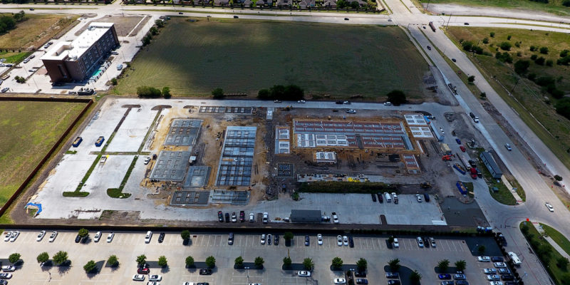Construction Progress Photo 2- Frisco, TX