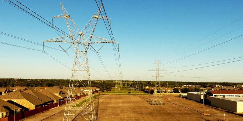 Power line Inspections DFW