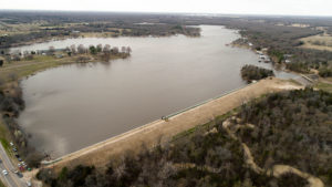 Aerial Photography on Dam Engineering Project