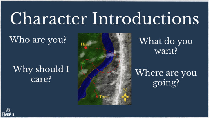 Character Introductions - The Start of Deep Charactrer Development with Writing Tips and Exercises