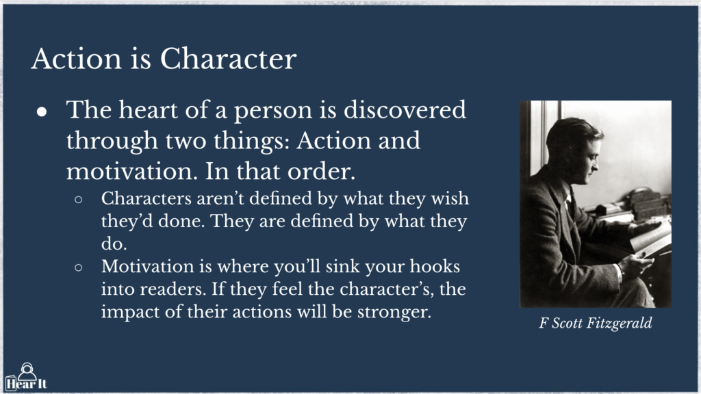 Action Is Character