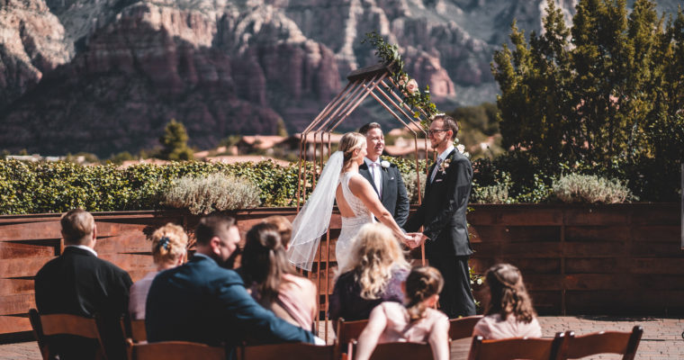 Chris + Rachael | Sedona, Arizona Wedding