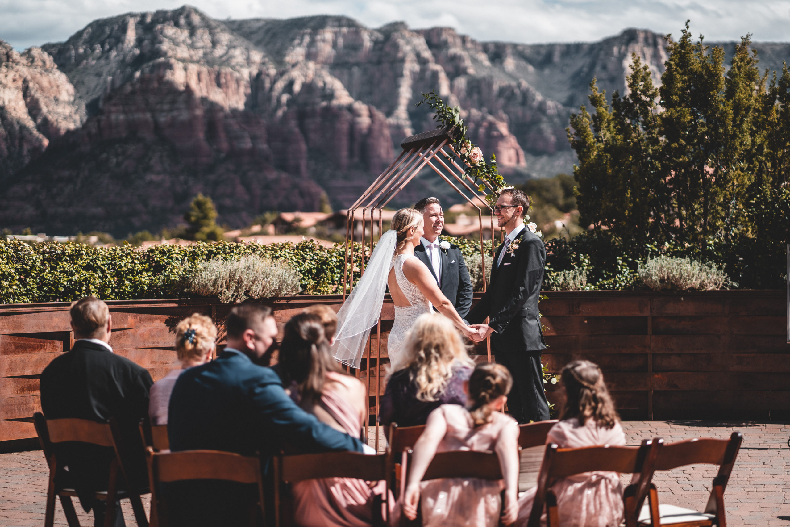 Chris + Rachael   Sedona, Arizona Wedding