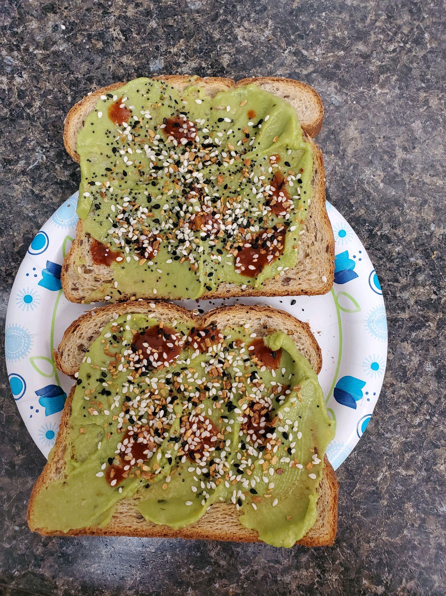 avocado toast meals during quarantine