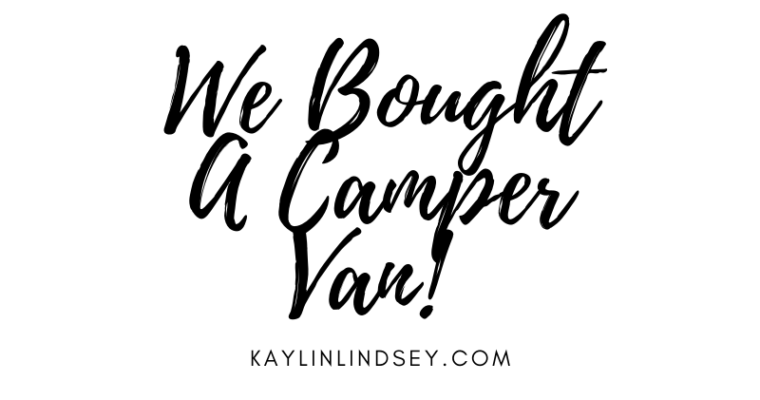 We Bought A Camper Van!
