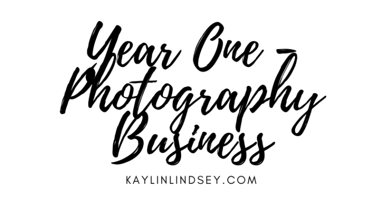 Year One – Starting A Photography Business