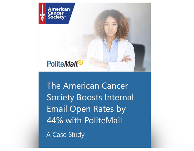 American Cancer Society PoliteMail Case Study