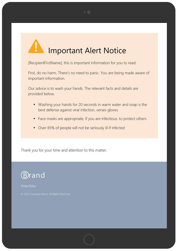 Important Alert Notice Version 2