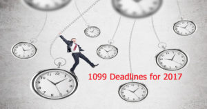 Deadlines for 1099s