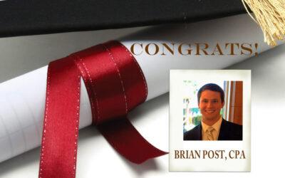 Congrats Brian Post!