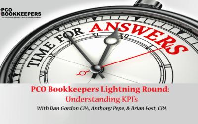 PCO Lightning Round FAQs: Understanding KPIs