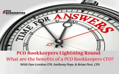PCO Lightning Round FAQs: CFO Responsibilities