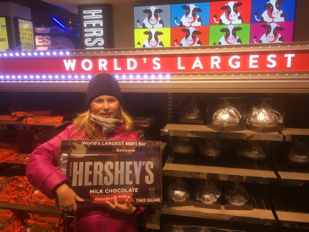 Hershey Times Square New York City