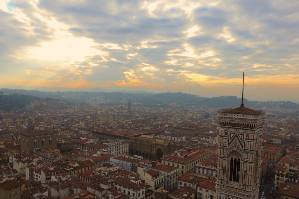 Tuscany Family Vacation Duomo View Florence Firenze
