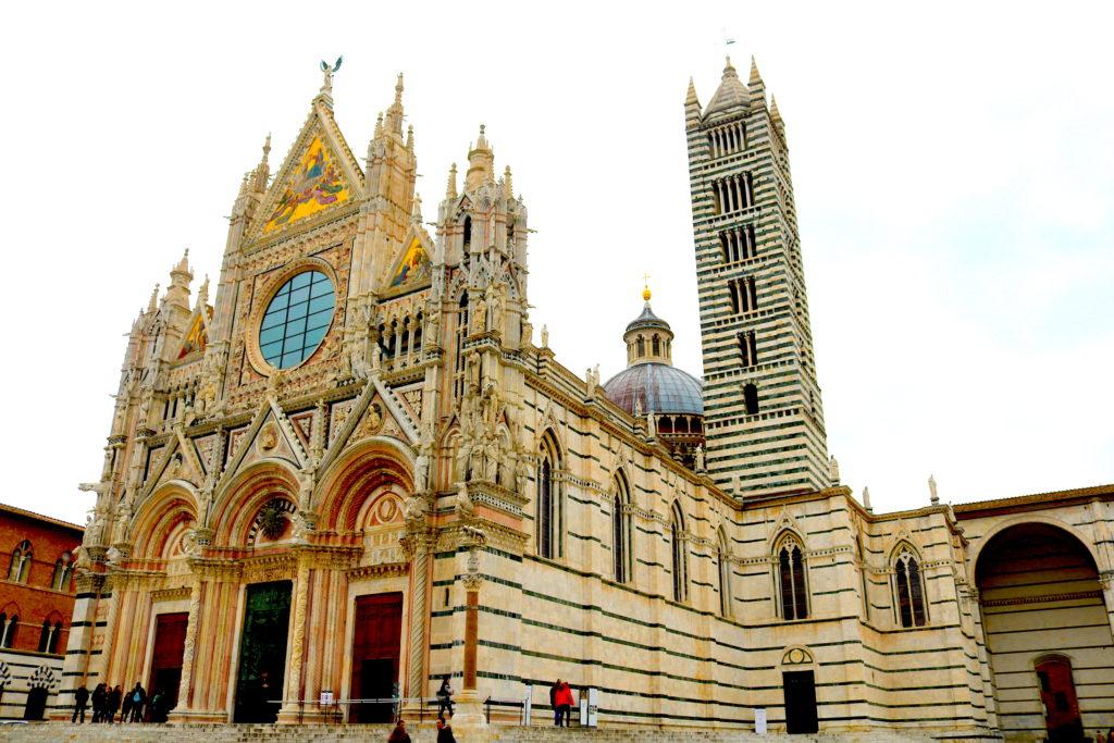 Family Vacation in Tuscany Siena Duomo Italy