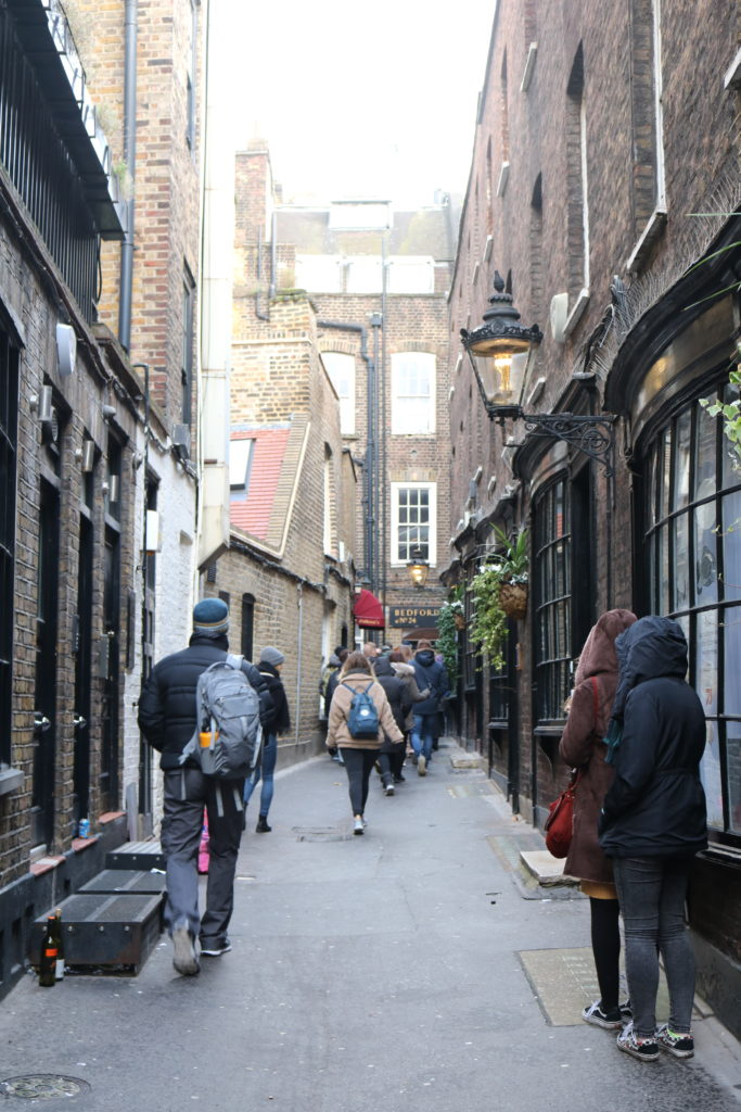 Harry Potter Knockturn Alley London Walking Tour
