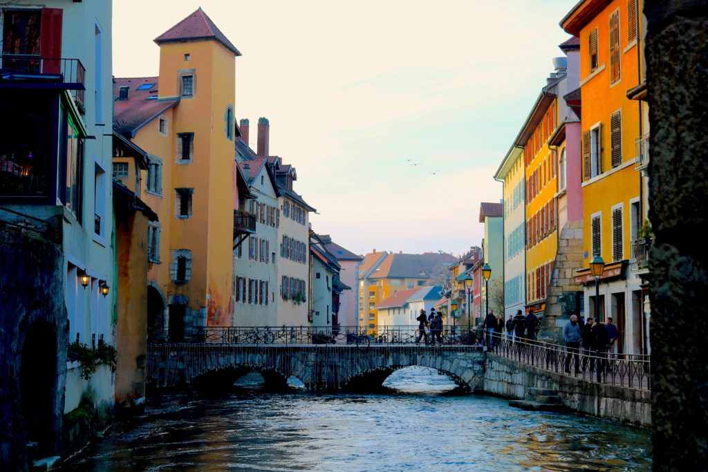 France Family Travel Annecy Canals