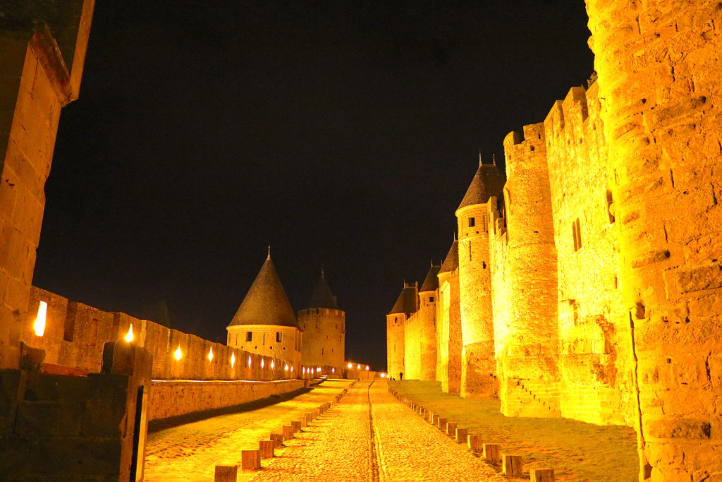 France Family Travel Carcassonne Medieval City