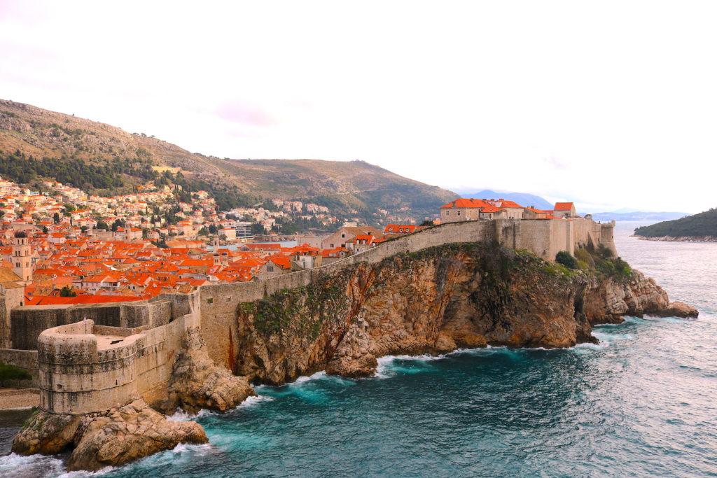 Dubrovnik Croatia Castle Walls Family Travel
