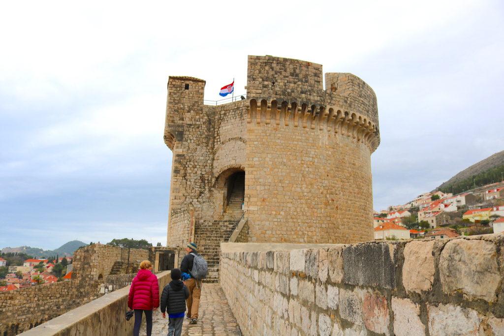Dubrovnik Croatia Castle Family Travel