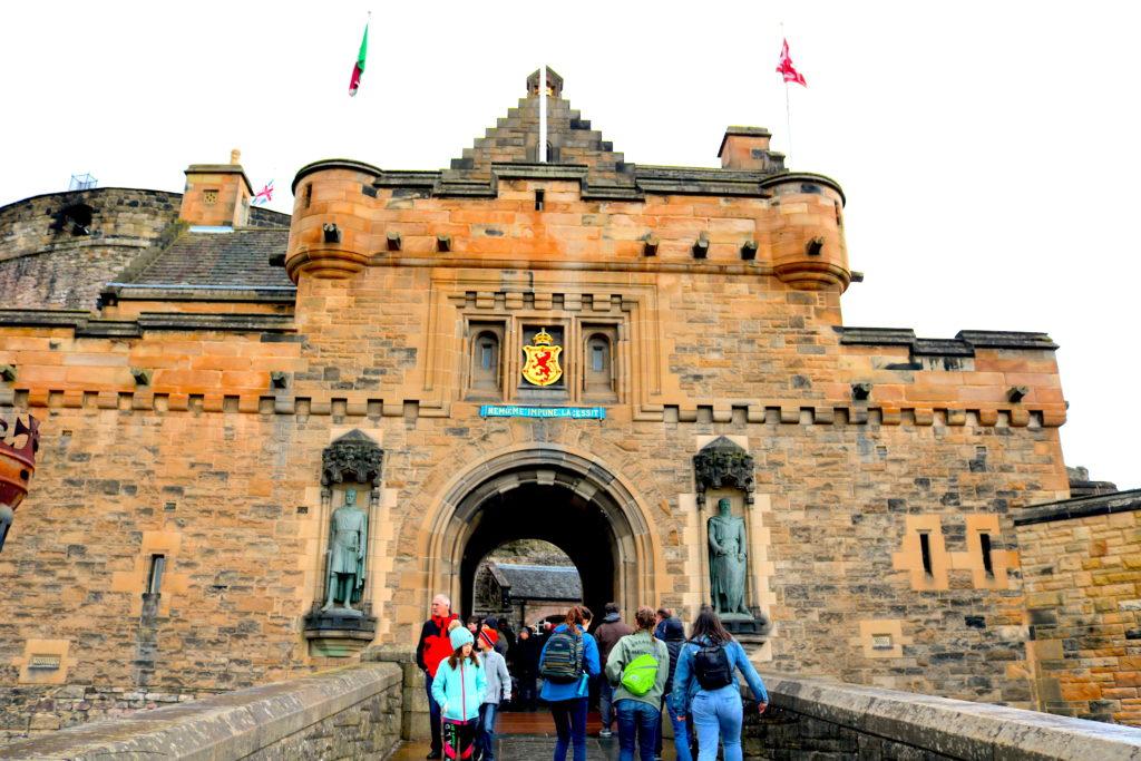 Edinburgh Scotland Castle Family Travel